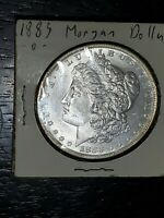 1883-0  MORGAN SILVER DOLLAR  OUTSTANDING SPECIMEN - CERTIFIABLE PLS C-11 PICS