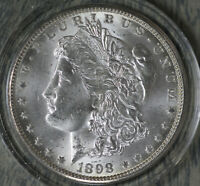 ORIGINAL HIGHER GRADE UNCIRCULATED 1898-O MORGAN DOLLAR