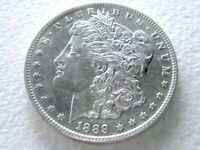 1889-O MORGAN DOLLAR, EXTREME DETAIL OFTEN OVERLOOKED DATE 21-K