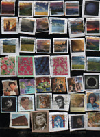 455 U.S.FOREVER STAMPS ALL DIFFERENT & CANCELLED