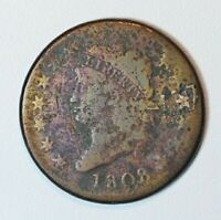 1808 LARGE CENT   CLASSIC HEAD   FROM AN OLD COLLECTION