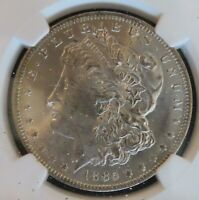 1885-O MORGAN SILVER DOLLAR CERTIFIED NGC MINT STATE 65