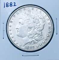 1882 MORGAN SILVER DOLLAR PREMIUM QUALITY