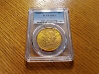 1906 S $20 LIBERTY DOUBLE EAGLE PCGS MS63 RARE BETTER DATE H