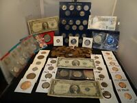USA & FOREIGN COINS AND CURRENCY LOT