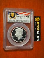 2014 S 50C ENHANCED SILVER KENNEDY HALF DOLLAR PCGS MS70 PL