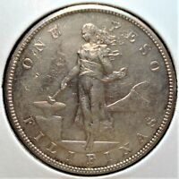1904 S SILVER PESO FROM THE PHILIPPINES