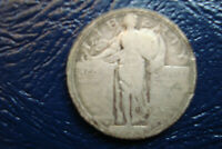 1916 STANDING LIBERTY QUARTER, UNGRADED, SCRATCHED