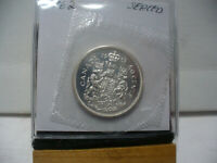 1962 CANADA SILVER HALF DOLLAR TOP GRADE  50 CENT PIECE  62  PROOF LIKE  SEALED