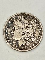 LOOK__KEY DATE- 1895-S U.S. MORGAN SILVER DOLLAR, SEE OTHER SILVER DOLLARS