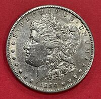 1890-S MORGAN SILVER DOLLAR 90 SILVER $1 COIN VF