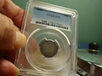 1809 CAPPED BUST DIME _ PCGS F 15 _ NO PROBLEMS HERE
