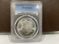 1878-CC MORGAN SILVER DOLLAR MINT STATE 65 - PCGS GRADED - BEAUTIFUL UNCIRCULATED EXAMPLE