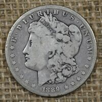 1889-CC $1 VG MORGAN SILVER DOLLAR