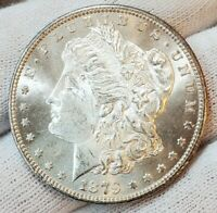 1879 S BU UNC MINT FRESH GORGEOUS BETTER DATE MORGAN SILVER DOLLAR LOT W37