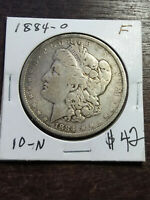 COIN - US - DOLLARS - MORGAN - 1884 - O - F