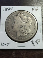 COIN - US - DOLLARS - MORGAN - 1884 - VG