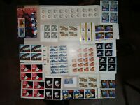 MISCELLANEOUS STAMP SHEETS HIGH VALUE 140  $ MINT UNUSED