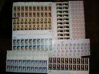 MISCELLANEOUS US STAMP SHEETS