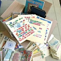 TRIGGIBBY LARGE USPS BOX FULL OF US ALBUMS COVERS 1000'S OF
