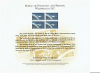 UNITED STATES ENGRAVED CARD COMMEMORATING INTERPEX 13TH INT.