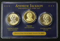 2010 OFFICIAL FIRST DAY OF ISSUE ABRAHAM LINCOLN PRESIDENTIAL DOLLAR SET