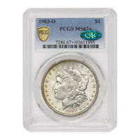 1903-O $1 SILVER MORGAN DOLLAR PCGS MINT STATE 67 CAC CERTIFIED NEW ORLEANS COIN GEM