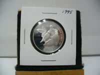 1995  CANADA  SILVER  HALF DOLLAR  50  FIFTY CENT PIECE   STERLING SILVER  95