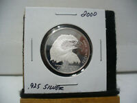 2000  CANADA  SILVER  HALF DOLLAR  50  FIFTY CENT PIECE   STERLING SILVER  00