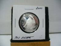 2000  CANADA  SILVER  HALF DOLLAR  50  FIFTY CENT PIECE   STERLING SILVER  00C