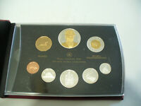 2007  CANADA PROOF SET   TOONIE  LOONIE FIFTY CENT QUARTER NICKEL DIME PENNY