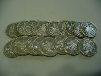LOT OF 20 1963  CANADA  HALF  DOLLAR  SILVER  COINS  63  LOT B  50 CENT  PIECE