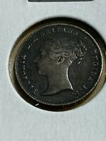 1840 GREAT BRITAIN 1 GROAT  4 PENCE  SILVER COIN