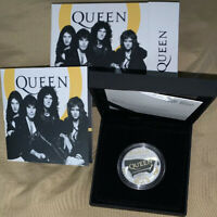 GREAT BRITAIN UK  2020 QUEEN MUSIC LEGENDS 1 OZ ONE OUNCE SI