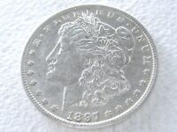 1897-O MORGAN SILVER DOLLAR COIN,  STRONG DETAILS R DATE - ORIG 5-H