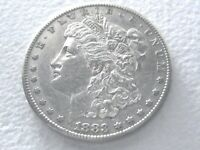 1883-S MORGAN SILVER DOLLAR COIN, EXTREME DETAILS R DATE 8-N