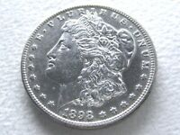 1898-S MORGAN SILVER DOLLAR, LUSTROUS R DATE  STRONG DETAIL 5-A