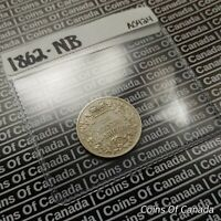 1862 NEW BRUNSWICK SILVER 20 CENTS COIN  SEALED IN ACID FREE PKG COINSOFCANADA
