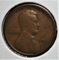 1909 S VDB LINCOLN HEAD WHEAT CENT KEY DATE OF THE SERIES