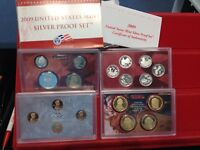 2009 S COMPLETE SILVER 18 COIN PROOF SET W BOX AND COA