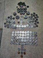 JOB LOT OF USA COINS  SOME SILVER COIN  MOSTLY QUARTER DOLLA