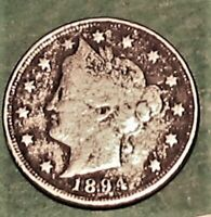 1894   LIBERTY HEAD NICKELS  FULL LIBERTY SHOWING    A 97