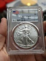 2019 SILVER EAGLE FIRST STRIKE MINT STATE 69 PCGS