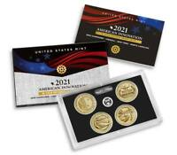 2021 S AMERICAN INNOVATION $1 COIN 2021 REVERSE PROOF SET 21