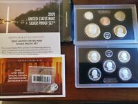2020 US SILVER PROOF SET WITH REVERSE NICKEL FREE SHIPPING