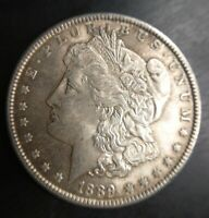 1889 P MORGAN SILVER DOLLAR SLIDER LOW END UNCIRCULATED MS LUSTEROUS