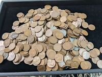 LOT OF 500 LINCOLN WHEAT PENNIES  CENTS