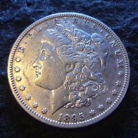 1895-O MORGAN SILVER DOLLAR - CHOICE EXTRA FINE  DETAILS FROM THE NEW ORLEANS MINT