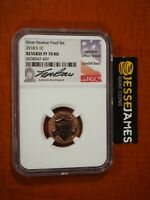 2018 S REVERSE PROOF LINCOLN CENT NGC PF70 RD LYNDALL BASS S