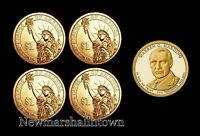 2014 PDS WARREN G. HARDING PRESIDENTIAL MINT PROOF SET  PD POS AB MINT ROLL